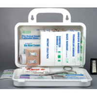 Ontario Section 8 Deluxe, 10 Unit First Aid Kit 1-5 People (Plastic)