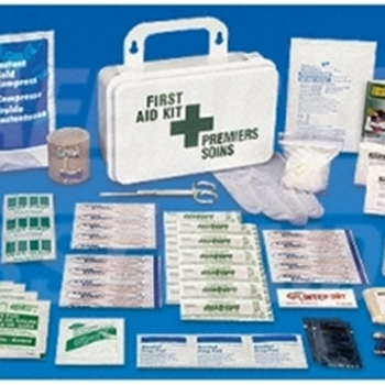 Ontario Section 8,10 Unit, Regulation First Aid Kit (Metal)