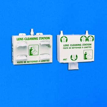 Lens Cleaning Station PLUS Complete Set - Corrugated