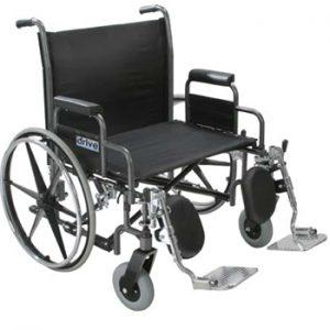Drive Sentra Heavy Duty Extra Wide Dual Axle Wheelchair