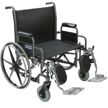 Drive Sentra Heavy Duty Extra Wide Dual Axle Wheelchair