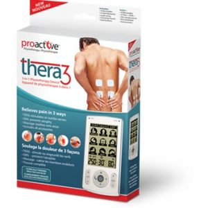 TENS 3 in 1 Physiotherapy Device Thera 3 by ProActive