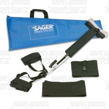 Sager Form III Bilateral Traction Splint
