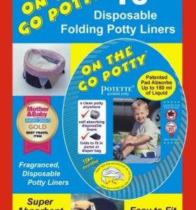 On the Go Potty Liner Refills by Kalencom