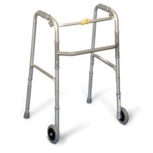 Folding Walker with Wheels