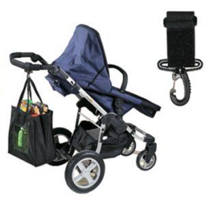 Jolly Jumper Stroller Diaper Bag Hooks Clips