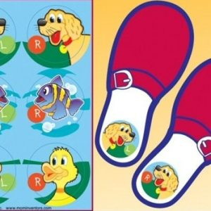 Shoe Clues Stickers by Mom Inventors